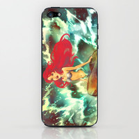 The Mermaid iPhone & iPod Skin by Alice X. Zhang