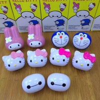 Cute Wall USB Charger For IPhone 8X7 Plus 5V / 1A US Plug For Hello Kitty Baymax Beautiful USB Charging For Huawei Smartphone
