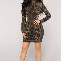 Brightest Gem Dress - Black