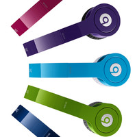 Blue Headphones | Beats Solo HD with Built-In Mic