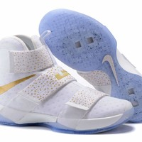 Tagre™ Nike LeBron Soldier 10 EP Olympic Basketball Shoes US7-12