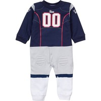 New England Patriots Uniform Coverall - Baby, Size: