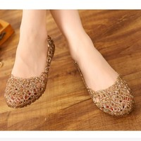 Women's Sandals Summer Casual Jelly Shoes
