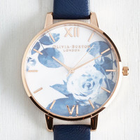 Luxe Trick of the Clock Watch by Olivia Burton from ModCloth