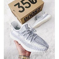 Samplefine2 Adidas Yeezy 350V2 Boots Static Trending Women Men Stylish Sport Running Shoes Sneakers I/A