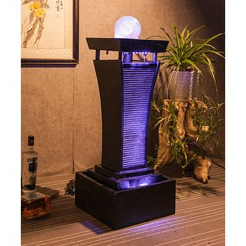 Modern Living Room Water Fountain