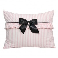 Wake Up Frankie - Penny and the French Quarter Standard Sham - Soft Pink/White Stripe (25% off!)  - Penny and the French Quarter Standard Sham - Soft Pink/White Stripe (25% off!) : Teen Bedding, Pink Bedding, Dorm Bedding, Teen Comforters