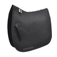 Quilted Dressage Pad - Black