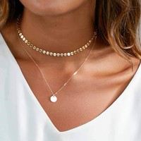 Gold/Silver Choker Necklace