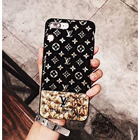 LV  iPhone 7 iPhone 7 plus - Stylish Cute On Sale Hot Deal Apple Matte Couple Phone Case For iphone 6 6s 6plus 6s plus