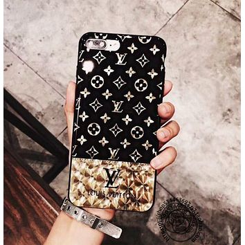 LV iPhone 7 iPhone 7 plus couple mobile phone shell iPhone 6 6s 6plus 6s plus F