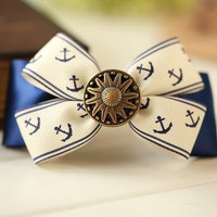 Bow and Anchor hairpin clip [165]