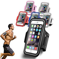 Universal Armband Cover Case For iPhone 6 Plus 6S Plus Samsung Galaxy Note 4/5 Xiaomi Redmi Note 2 3 LG G3 G4 Meizu M2 Note