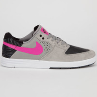 Nike Sb Paul Rodriguez 7 Mens Shoes Medium Grey/Pink Foil/Black  In Sizes