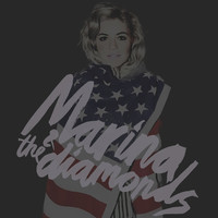 Marina and the Diamonds ; Hollywood Art Print by Wis Marvin