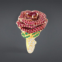 Rose dior bagatelle ring - Dior