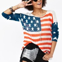 Born In The USA Knit