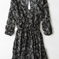 AEO Women's Don't Ask Why Cinched Dress