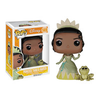 Princess and the Frog Tiana and Naveen Frog Pop! Figures - Funko - Princess and the Frog - Pop! Vinyl Figures at Entertainment Earth