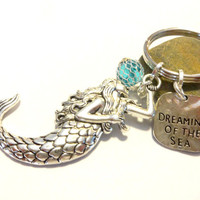 Mystical Mermaid Keychain