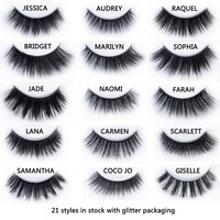 20 styles Visofree Mink Eyelashes Mink collection 3D Dramatic Fake Eye Lashes Makeup Mink EyeLashes