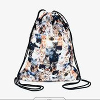 Kitten Drawstring Backpack/Bag