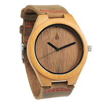 Wooden Watch // Black Walnut Plain