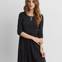 AEO Soft & Sexy Knit Dress, Black | American Eagle Outfitters