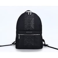 VERSACE MEN'S NEW FASHION LEATHER BACKPACK BAG