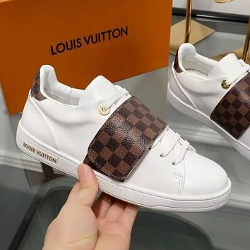 Louis Vuitton Women Fashion Old Skool Flats Shoes