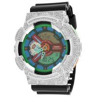 Mens GA110MC-1A Gshock Watch  Simulated Diamonds G-Shock