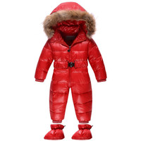 Newborn Baby Clothes Baby Girls Winter Rompers Baby Boys Snowsuit Infant Jumpsuits Down Coat Baby Coveralls Warm Clothing