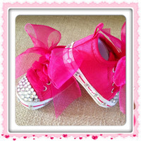 BLiNG BLiNG BABY SHOES So Cute Newborn by BabyCakesByBella on Etsy