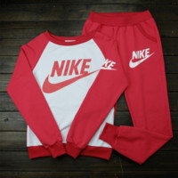 """NIKE"" Fashion Casual Print Athletic Wear Two-Piece"