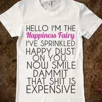 Supermarket: Happiness Fairy from Glamfoxx Shirts