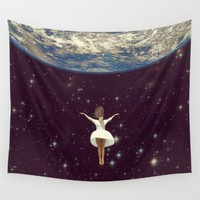 Let It All Go Wall Tapestry by Paula Belle Flores