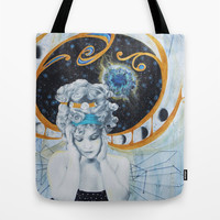 On My Mind Tote Bag by Allise Noble