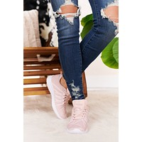 Bubble Gum Wishes Casual Sneakers (Pink)