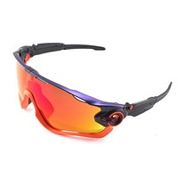 New Oakley Sunglasses Jawbreaker Neon Purp Pop Fade w/Prizm Ruby #9290-3031