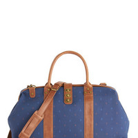 ModCloth Nautical The Scenic Commute Weekend Bag in Smooth Sailing