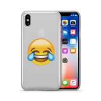 LOL Emoji - Clear TPU Case Cover