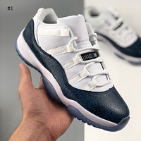 Air Jordan 11 fashion casual sports low-top basketball shoes