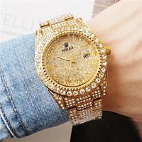 Rolex Rhinestones Watch