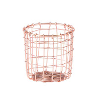 Copper Weave Stationary Cup