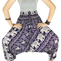 Harem pants Elephant pants Hippie clothes Hippie pants Gypsy pants  Palazzo pants Elephant clothes