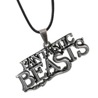 Fantastic Beasts And Where To Find Them Letter Logo Pendant Necklace
