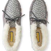 Prince & Fox Faux Fur Cuff Moccasin