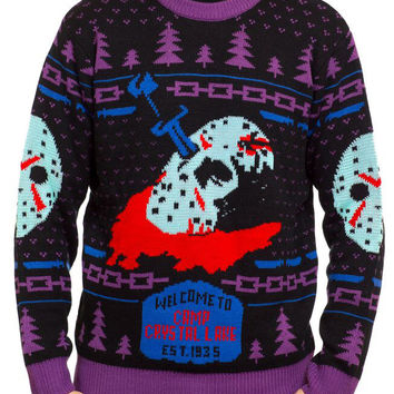 Friday the 13th Knit Sweater (8-Bit Glow-in-the Dark Variant)