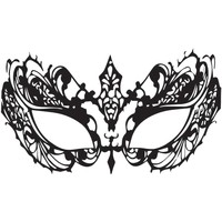 Face Decal Lace Mask