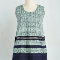 Festival Mid-length Sleeveless A-line View From the Tapas Top